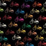 Bike seamless pattern Royalty Free Stock Photography