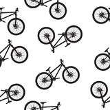 Bike seamless pattern  illustartion Stock Photo
