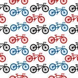 Bike seamless pattern Royalty Free Stock Photography