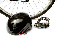 Bike a segurança Foto de Stock Royalty Free