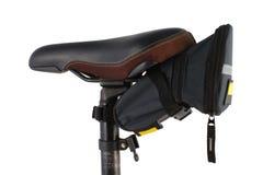 Bike a sela e carreg o saco Imagens de Stock Royalty Free