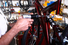 Bike service Stock Images