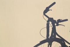 Bike shadow Stock Photos