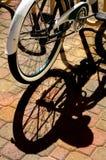 Bike Shadow Stock Image