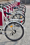 Bike sharing Royalty Free Stock Images