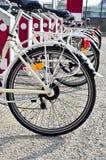 Bike sharing Royalty Free Stock Images