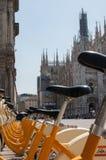 Bike sharing Stock Image