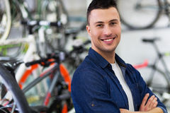 Bike Shop Stock Photography