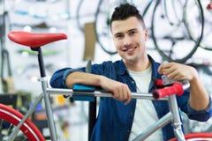 Bike Shop Royalty Free Stock Photos