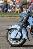Bike show millenium Royalty Free Stock Photo