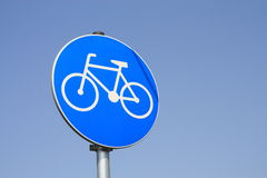 Bike sign Stock Image