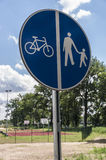 Bike sign. Stock Image
