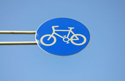 Bike Sign Royalty Free Stock Photos