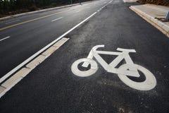 Bike sign Stock Photography
