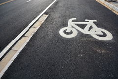 Bike sign Royalty Free Stock Images