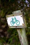Bike sign Royalty Free Stock Photos