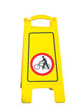 Bike sign Royalty Free Stock Photo
