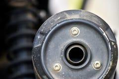 Bike silencer Stock Image