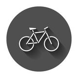 Bike silhouette icon. Stock Photos