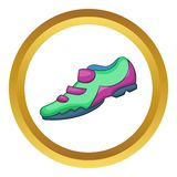 Bike sneaker vector icon Royalty Free Stock Photography
