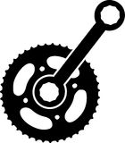 Bike Spare Gear Stock Photography