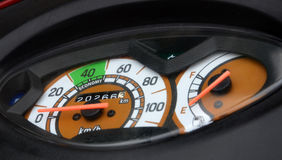 BIKE SPEEDO METER Stock Photography