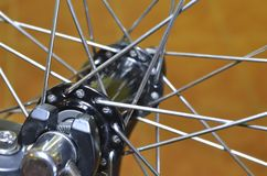 Bike spokes Royalty Free Stock Photo