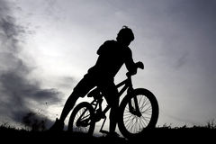 Bike sport Royalty Free Stock Photography