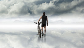 Bike and sport concept. stock photos