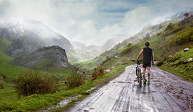 Bike and sport concept. royalty free stock images