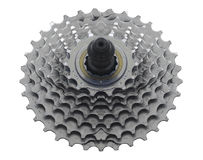 Bike Sprocket. On White for Easy Cut-Out stock image