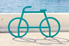 Bike stand Royalty Free Stock Images