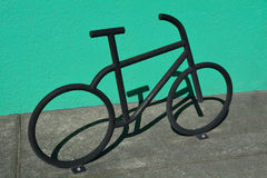 Bike stand Stock Images
