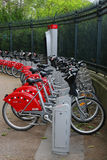Bike station Royalty Free Stock Photo