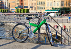 Bike in stockholm Stock Photography
