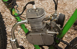 Bike 2_Stroke Motor Royalty Free Stock Photography