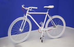 Bike in studio interior Royalty Free Stock Photos