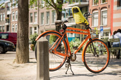 Bike in summer Stock Images
