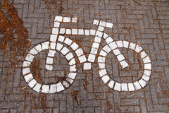 Bike symbol Stock Image