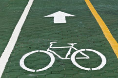 Bike symbol Stock Photo