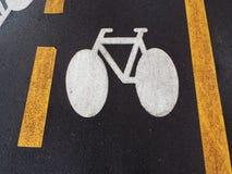 Bike symbol Royalty Free Stock Image