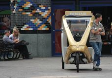 Bike Taxi. In The Hague Netherlands Royalty Free Stock Images