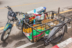 Bike of Thailand Royalty Free Stock Photography
