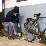 Bike thief Stock Images