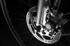 Bike tire disk brake Royalty Free Stock Photography