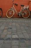 Bike on a tony street in Heidelberg Stock Photography