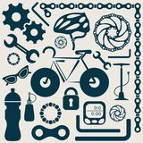 Bike tools Royalty Free Stock Photo