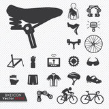 Bike tools and equipment part and accessories set Stock Photo
