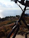 Bike tour Podobuce, Croatia royalty free stock images
