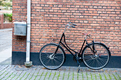 Bike in town Royalty Free Stock Image